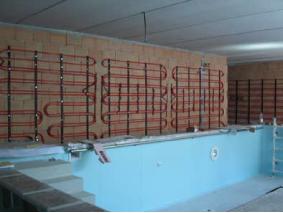 Marogna srl sona verona installazione pannelli radianti per riscaldamento e raffrescamento - Riscaldamento pannelli radianti a parete ...